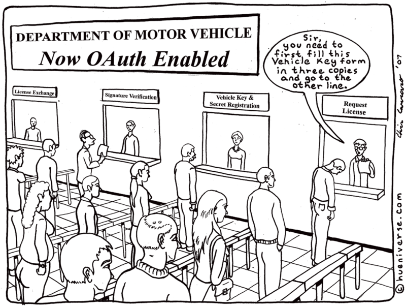 OAuth at the DMV